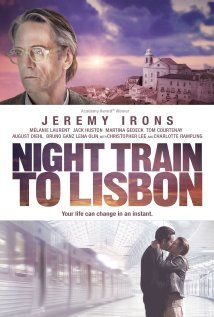 Night Train To Lisbon. Found by chance on Hulu, Fantastic Movie... I loved it