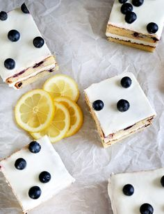 Gluten Free Lemon Blueberry Cake - Gluten-Free on a Shoestring- I would sub dairy free items