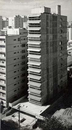 Paulo Mendes da Rocha, Pritzker 2006, Edifício Guaimbê, Rua Haddock Lobo no bairro dos Jardins em São Paulo, 1965.