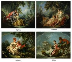 The Four Seasons: 1755 by Boucher (The Frick Collection, NYC)