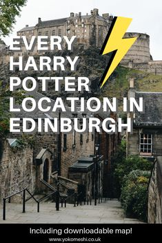 No trip to Scotland is complete without visiting the magical Harry Potter sites in Edinburgh.   This post contains a self-guided Harry Potter tour of Edinburgh, including where to stay in Edinburgh and excursions to take from Edinburgh.   With a downloadable map.