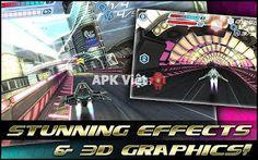 Flashout 3D v1.1 APK+DATA: game 3D đua phi thuyền bắn súng cho android