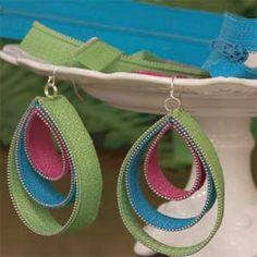 Zipper Earrings
