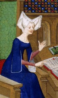 Christine de Pizan book illumination