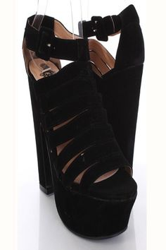 Stiletto Heel Open Toe Faux Leather Strappy Buckle Gladiator Shoe ...