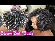 Beauty Discover - straw set on natural hair style demo Straw Set Curls Straw Set Natural Hair Coiling Natural Hair Natural Hair Twists Natural Hair Styles Straw Hair Curls Twist Hairstyles Curled Hairstyles Black Hairstyles Straw Set Natural Hair, Straw Set Curls, Coiling Natural Hair, Natural Hair Twists, Natural Hair Care, Natural Hair Styles, Short Hair Styles, Straw Hair Curls, Twist Hairstyles
