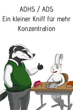 """Selbstvertrauen von Kindern mit ADS / ADHS stärken ADD / ADHD: A little trick for more concentration. Over time, children with ADHD themselves believe that they """"cannot concentrate anyway"""". Motivational Books, Motivational Thoughts, Kids And Parenting, Parenting Hacks, Classroom Management Plan, Adhd Kids, Kids Education, Kindergarten, Preschool"""
