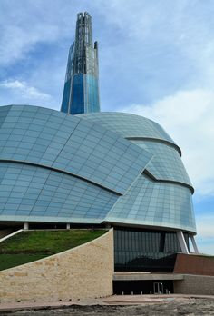 Canadian Museum for Human Rights (nearing completion)- Winnipeg, Manitoba, Canada- Antoine Predock, architect