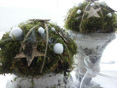 .moss Hygge Christmas, Coastal Christmas, Christmas 2014, Rustic Christmas, Christmas Wreaths, Christmas Decorations, Holiday Decor, Advent, Garden Whimsy