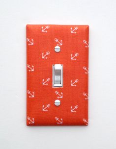 Anchor Light Switch Plate Cover / Nautical Nursery by SSKDesigns, $16.00