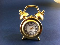 Miniature Clock on Etsy, $15.00