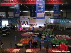 Los emprendedores, las estrellas de Campus Party! #CPMX4 #CPKingston