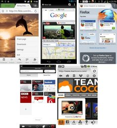 Top 5 Most Popular Android Browsers