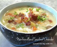 Seafood Casserole Recipes, Chowder Recipes, Seafood Recipes, Soup Recipes, Recipies, Fish Chowder, Chowder Soup, Fish Soup, Homemade Tartar Sauce