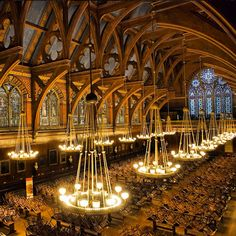 A view inside Annenberg Hall at #Harvard, #CambridgeMA