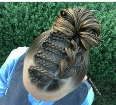 Beautiful Dutch & Pull Through Braid Updo