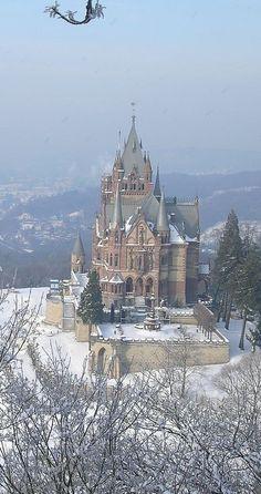 Castle Drachenburg, Bonn, Germany