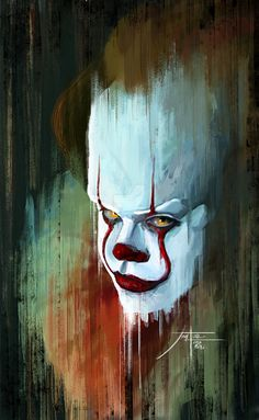 """pixelated-nightmares: """"Pennywise by Jorgel007 """""""