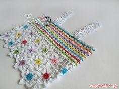 definir menina com flores feitas de crochê patrones07