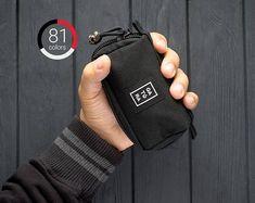 Mens zipper pouch  EDC nylon pouch from Cordura. For keys