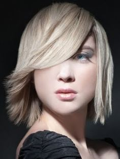 Thick hair just falls into place in this shaggy layered haircut. Heavy layering removes bulk and eases styling and creates flattering frame around the face. To style, work in a mix of frizz tamer a. Medium Length Hair Straight, Medium Layered Hair, Medium Long Hair, Mid Length Hair, Short Hair Cuts, Medium Hair Styles, Short Hair Styles, Stylish Haircuts, Trendy Hairstyles