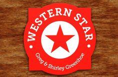Western Star Property Sign   Danthonia Designs