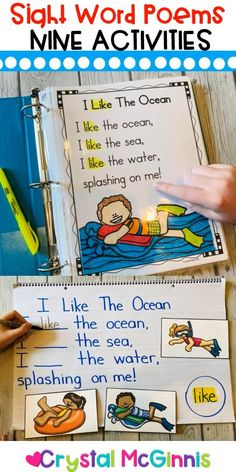 9 Ways to Use Sight Word Poems in Your Classroom