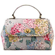 93a46995c Cath Kidston Turnlock Hydrangea Handbag