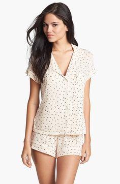 Sleepwear upgrade like this. | Eberjey Print Short Pajamas | Nordstrom