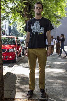 street style sao paulo masculino - rock