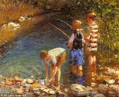 adriaan boshoff - Google Search South African Artists, Famous Artists, Impressionist, Fishing, Passion, Paintings, Oil, Sculpture, Google Search