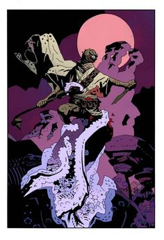 Tusken Raider by Mike Mignola. Different but awesome.