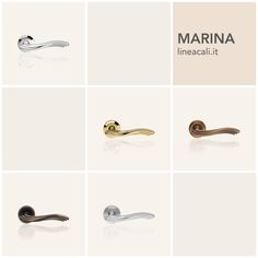 Marina | A truly stylish handle and one of Linea Calì's best sellers, characterised by a triple wave that makes the handgrip comfortable and at the same time gives the forms a sense of vitality. #handles #doorhandle #doorhandles #lineacali #maniglie #round #classic #sea #brass #klamki #ручки #manillas #klinken