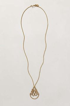 Anthropologie - Trillo Pendant Necklace