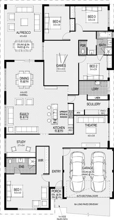 Meditterranean 2513 Sq Ft 4/2 With Theater, Study And Game Room