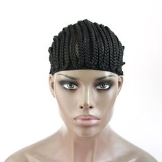 CiCi Collection Cornrows Cap For Easier Sew In Braided Wig Caps Crotchet Black Color Spider Braiding (Misc. Cornrows, Braids, Wig Cap, Crotchet, Wigs, Hair Accessories, Sewing, Spider, Easy