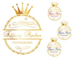 Items similar to Premade Logo Predesigned Logo Photography Logo Business Logo Gold Logo Watercolor Logo Handwritten Logo Feminine Logo on Etsy Branding Kit, Photography Logos, Business Logo, Biscuit, Unique Jewelry, Handmade Gifts, Etsy, Kid Craft Gifts, Craft Gifts