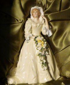 Royal Doulton Princess Diana wedding figurine