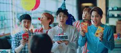— jonginssoo:  exo-k for lotte pepero (happy...
