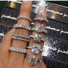 Cute Jewelry, Jewelry Accessories, Flower Jewelry, Diamond Rings, Diamond Jewelry, Solitaire Rings, Solitaire Diamond, Ring Verlobung, Diamond Are A Girls Best Friend