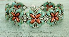 Bracelet of the Day: For Your Eyes Only - Turquoise & Copper