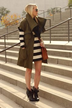 Love the casual layering