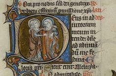 Book of Hours, MS M.60 fol. 4r  France, ca. 1300