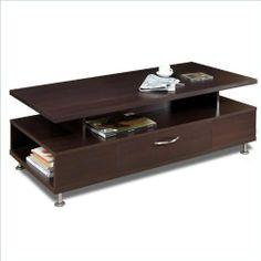 Nexera Eclipse Rectangular Coffee Table in Rich Dark Espresso by Nexera, http://www.amazon.com/dp/B002N6QTY0/ref=cm_sw_r_pi_dp_giBkrb189ET1Y