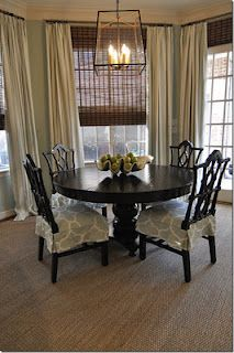 New curtains for the dining room | Dovers, Room and Globe
