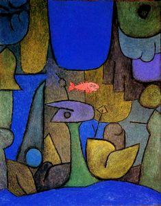 Paul Klee(1879ー1940)「Unterwasser-Garten」(1939)