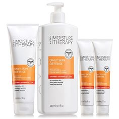 Formula with vitamins A, C, E B5 and antioxidants for daily skin health. For everyday dry skin. Dermatologist-tested. Hypoallergenic. A $28 value, the collection includes: • Daily Skin Defense Body Wash – 8.4 fl. oz. a $8 value • Daily Skin Defense Body Lotion – 16.9 fl. oz. a $10 value • 2 Daily Skin Defense Hand Creams – each, 4.2 fl. oz. with a $5 value