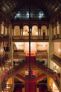 Interior of The Grand Budapest Hotel