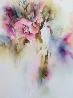 Floral painting - Watercolor Blog | Bev Wells Art Class