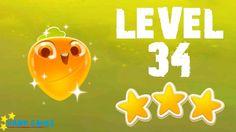 Farm Heroes Super Saga - 3 Stars Walkthrough Level 34